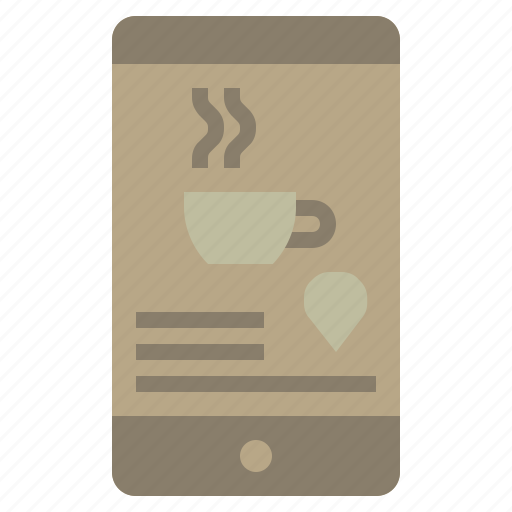 coffee, cup, drink, food, hot, paper, shop icon