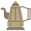coffee, drink, food, hot, kettle, kitchenware, pot icon