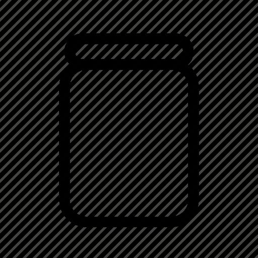 Bean, coffee, jar icon - Download on Iconfinder