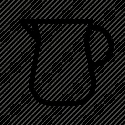 coffee, jug, kettles, water icon