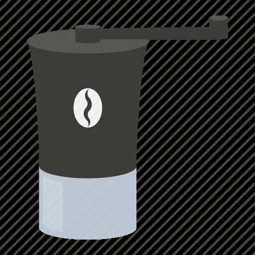 coffee, equipment, grinder, kitchen, tool icon