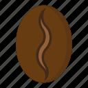 arabica, bean, coffee, drink, food icon