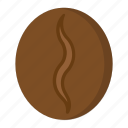 bean, coffee, drink, food, robusta icon