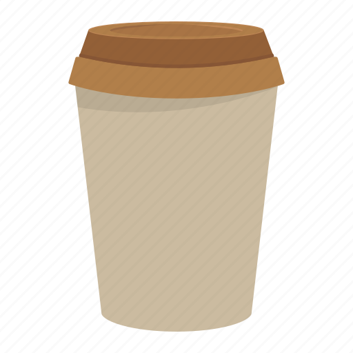 coffee, cup, drink, paper icon