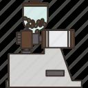 coffee, grinder, mill, machine, bean