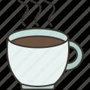 coffee, hot, cup, drink, beverage