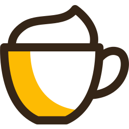 beverage, cafe, cappuccino, coffee, cream, cup, drink icon