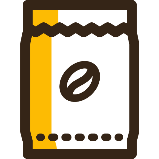 bag, cafe, coffee, drink, food, kitchen icon