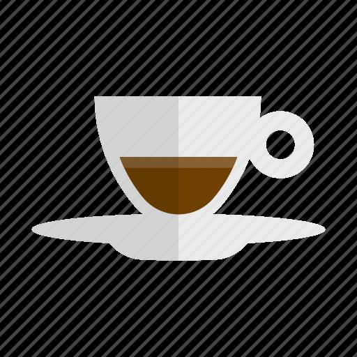 caffeine, coffee, doppio, drink, hot drink icon