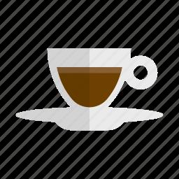 caffeine, coffee, drink, espresso, hot drink, lungo icon