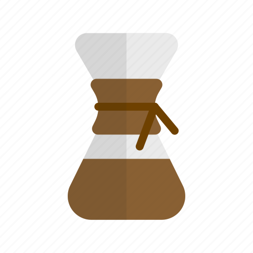 cafe, chemex, coffee, drink, hipster, preparation, retro icon