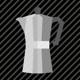 cafe, coffee, espresso, moka, pot, preparation icon
