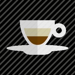 beverage, cafe, coffee, cup, drink, espresso, macchiato icon