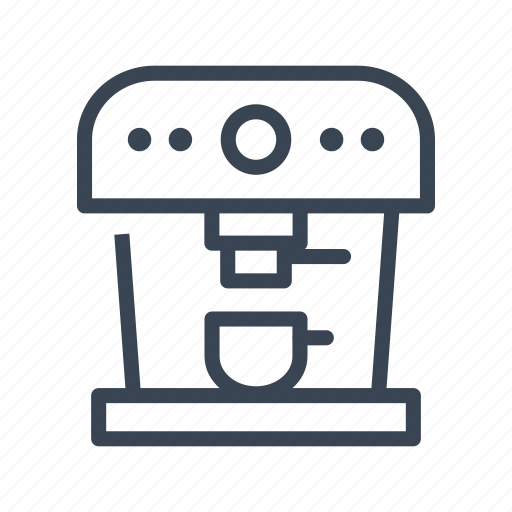 Coffee, espresso, machine, maker icon - Download on Iconfinder