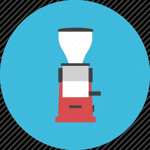 barista, brew, coffee, drink, grinder, hot, tool icon
