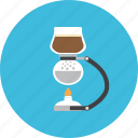 barista, brew, coffee, drink, hot, jar, syphone icon