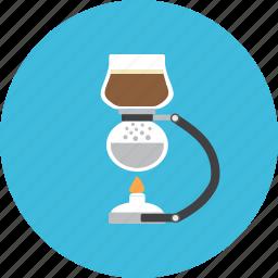 barista, brew, coffee, drink, hot, jar, syphone icon