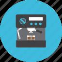 barista, brew, coffee, drink, equipment, hot, machine icon