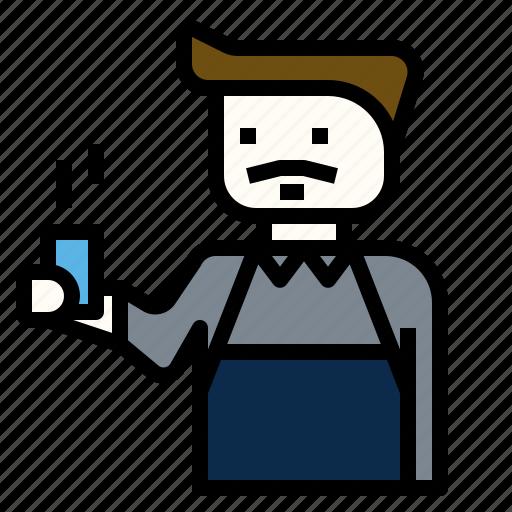 barista, brew, coffee, serve icon