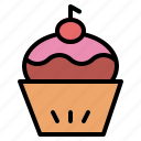 bakery, cupcake, dessert, sweet icon