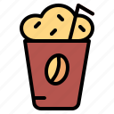 coffee, cup, drink, mocha, shop icon