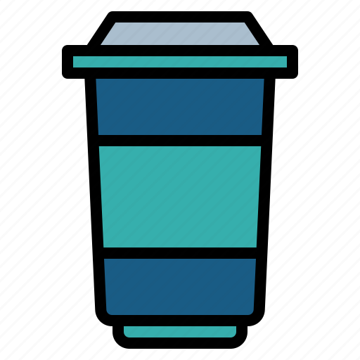 coffee, cup, drink, hot, paper, shop, takeaway icon