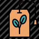 bag, drink, herbs, hot, tea icon