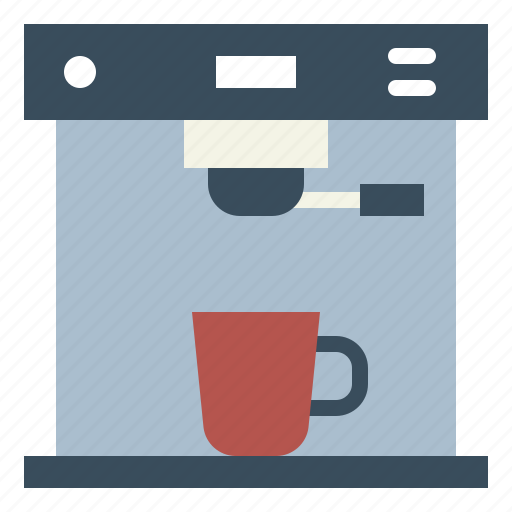coffee, drink, hot, machine, shop icon