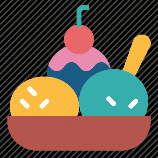 Dessert, icecream, summer, sweet icon - Download on Iconfinder