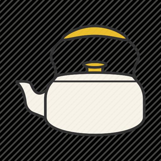 classic, kettle, pot, tea, teakettle, teapot icon