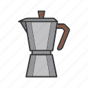 coffee, coffeemaker, extractor, maker, percolator icon