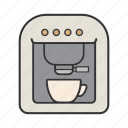 appliance, coffee, coffeemaker, electric, espresso, machine, maker icon