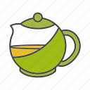kettle, pot, tea, teakettle, teapot icon