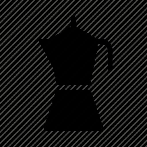 bar, cafe, coffee, coffein, moka, pot, restaurant icon