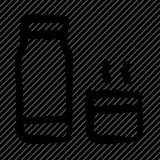 bar, coffee, coffein, flask, restaurant, thermos icon