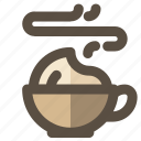 coffee, cup, espresso, latte icon