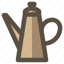 coffee, kettle, water icon