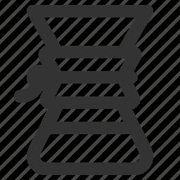 chemex, coffee, coffee maker icon
