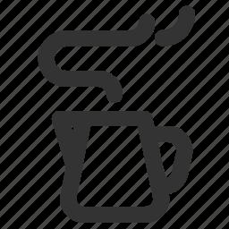 cup, jug, milk, milk jug icon