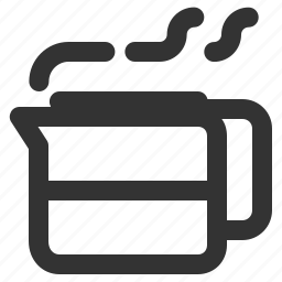 coffee, coffee carafe, coffee decanter, coffee server icon