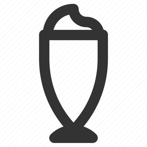 coffee, glass, iced coffee icon