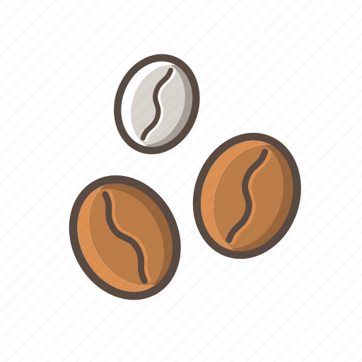 Bean, cafe, coffee, coffee beans icon - Download on Iconfinder