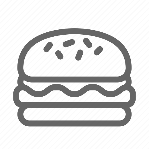 burger, cafe, hamburger icon