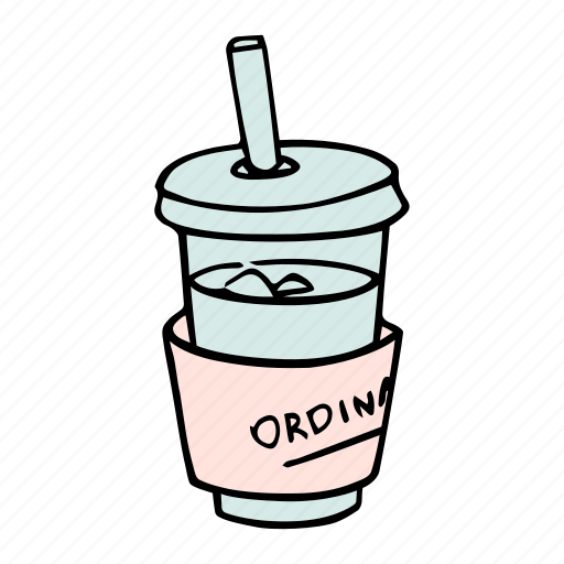 beverage, cafe, cafeteria, coffee, cup, drink, icedcoffee icon