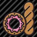 baker, bakery, donut, sweet icon