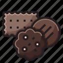 bakery, cookie, cookies, dessert icon