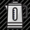 coffe, drink, hot, kettle, pot, tea icon