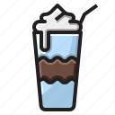 cold, drink, frappe, ice icon