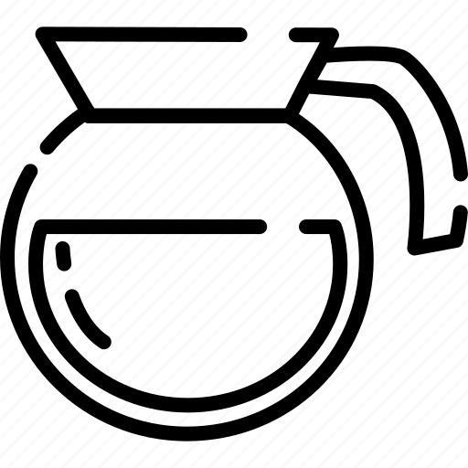 Coffee, cup, drink, line, machine icon - Download on Iconfinder