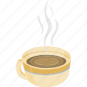 break, breakfast, coffee, hot coffee, hot tea, tea, tea cup icon